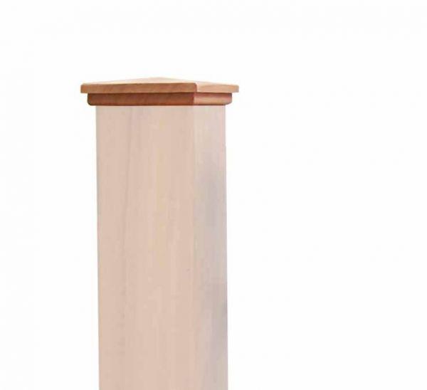Beispiel: Abdeckung Spitze 11 x 11 cm - Mahagoni