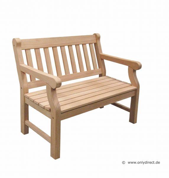 2-Sitzer Gartenbank HYDE PARK - die besondere Holzgartenbank im englischen Hyde Park Stil
